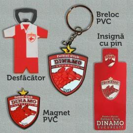 Set breloc pvc, Magnet pvc, Desfacator, Insigna pin