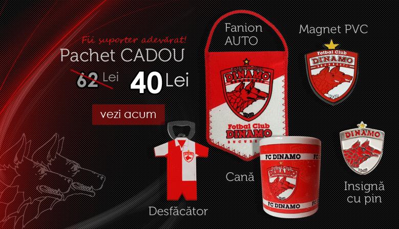 Pachet cadou FC DINAMO