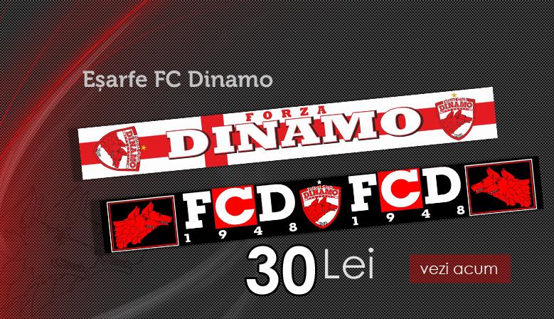 Esarfa tesuta FC Dinamo